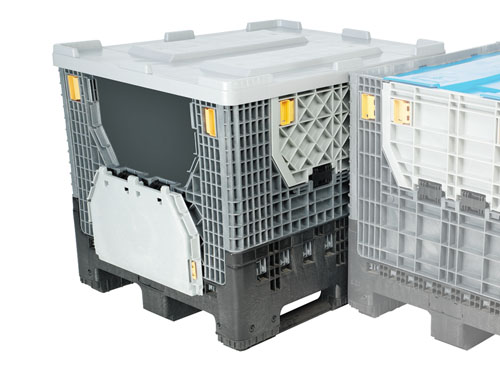 XIN LogisticX Heavy Duty Collapsible with Lid 780L