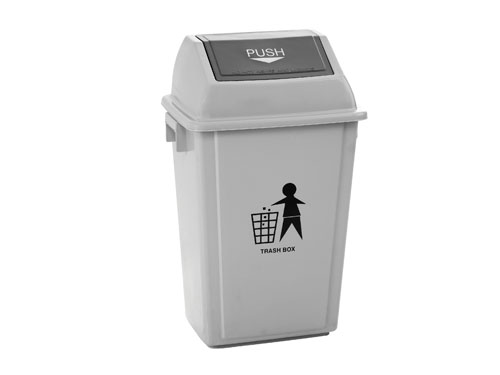 LogisticX Swing Top Bin with Lid 55L