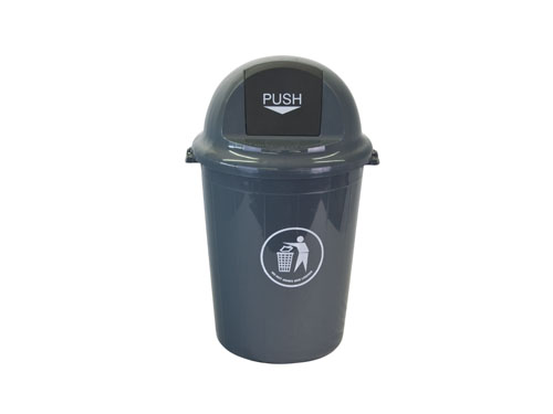 LogisticX Push Top Bin with Lid 65L